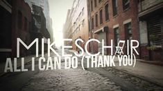 """""""Thank You!"""" It's what #God wants to hear from you. Live in an attitude of gratitude.  MIKESCHAIR """"All I Can Do (Thank You)"""" - Official lyric video #teamJesus #ChristianMusic"""
