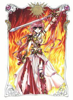 Hikaru Shidou - Magic Knight Rayearth