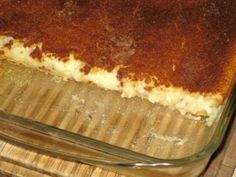 Banting Networks - Crustless Milktart (this site has fantastic articles and recipes)