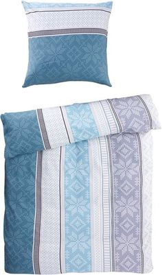 Bettwäsche SCHNEEFLOCKE Flanell | JYSK Bed Pillows, Pillow Cases, Home, Bed Covers, Snow Flakes, Flannel, Colour Gray, Textiles, Pillows