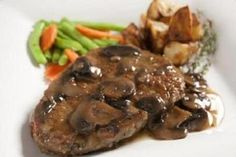 Salisbury Steak - Weight Watchers
