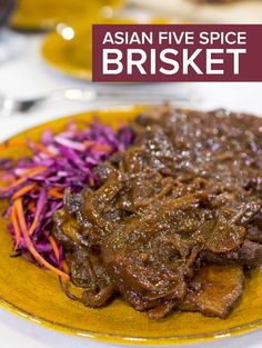 Ellie Krieger's Asian five spice brisket is so tender and savory. It's healthy yet flavorful thanks to blend of spices that update this classic Eastern European dish.