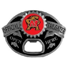 Collegiate Buckle - Maryland Terrapins