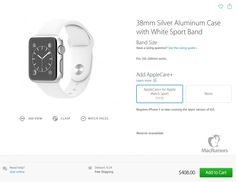 AppleCare+ for Apple Watch Pricing: $59 for Sport, $79 for Steel, $999 for Gold - https://www.aivanet.com/2015/04/applecare-for-apple-watch-pricing-59-for-sport-79-for-steel-999-for-gold/