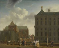 Isaak Ouwater The New Church and the Town Hall on the Dam in Amsterdam - The Largest Art reproductions Center In Our website. Low Wholesale Prices Great Pricing Quality Hand paintings for saleIsaak Ouwater Amsterdam Art, Dam Square, Dutch Painters, Old Master, Town Hall, Kirchen, Large Art, Fine Art Gallery, Art Reproductions