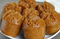 id: Resep Apem Gula Jawa. Indonesian Desserts, Indonesian Cuisine, Asian Desserts, Indonesian Recipes, Baby Food Recipes, Baking Recipes, Cake Recipes, Dessert Recipes, Roti Canai Recipe