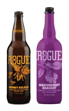 Rogue Ales Celebrates Its Honeybees With The Release Of Honey Kolsch And Marionberry Braggot Both Made Foraged From Farms Spring Nectar