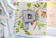 Fun DIY Projects for Teen Girls to Make for the Home - DIY Letters for Monogram Wall Decor - DIY Projects & Crafts by DIY JOY at http://diyjoy.com/quick-diy-projects-fast-crafts-ideas