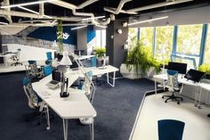 The New Game Studio 2o Office Has A Spaceship-Like Interior | 2014 interior design article