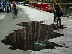 arte callejero en 3D                                                                                                                                                                                 Más