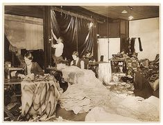 Sewing for a production, c. 1930s / by Sam Hood