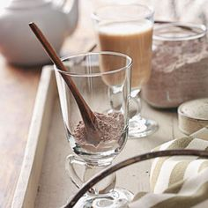 Cappuccino Mix Recipe and more Hot Chocolate Recipes for the Holidays from Taste of Home