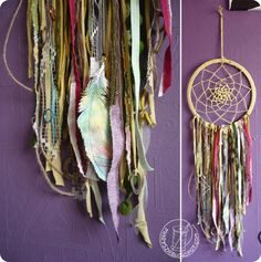 Dreamcatcher - recycling by marysza, via Flickr
