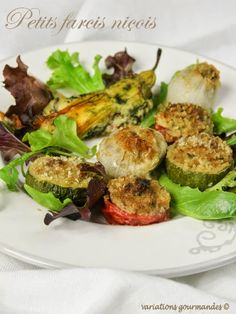 Petits farcis niçois Beef Recipes, Cooking Recipes, Healthy Summer, Healthy Dinner Recipes, Food And Drink, Vegetables, Nice, Buffets, Yum Yum