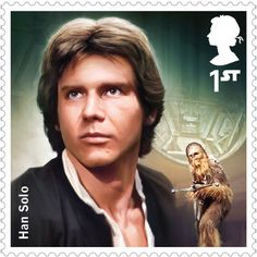 Han Solo Star Wars UK Stamps