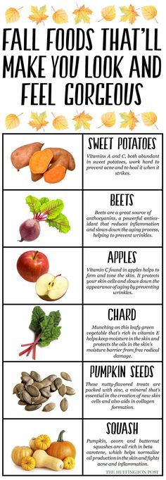 Give me that glow! Sweet potatoes, apples and more fall foods for radiant skin