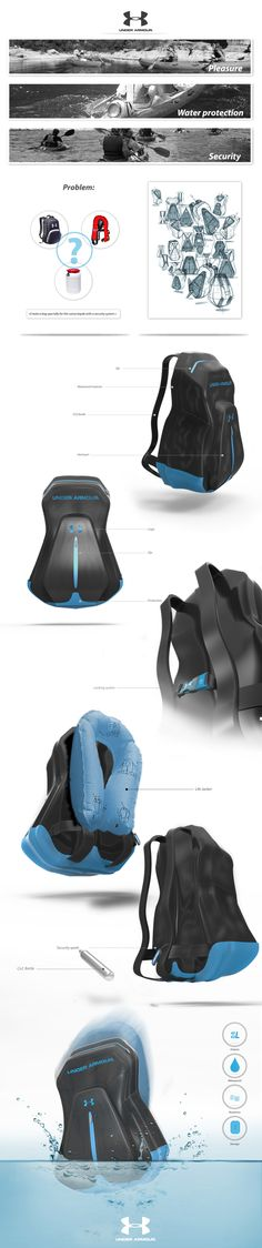 Under Armour: Bag by Diacre Nicolas, via Behance