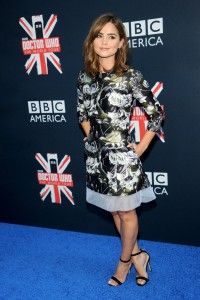 Jenna Coleman – Candids at Doctor Who World Tour in New York, August 14th 2014 - Actresses - Super Sexy