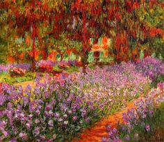 Il giardino Claude Monet 1900
