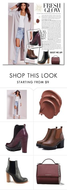 """#chelseaboots"" by sanya-marc ❤ liked on Polyvore featuring Missguided, Charles David, Chloé, Givenchy and chelseaboots"