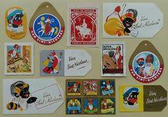 Sinterklaas zegels/labels