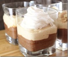 Vegan Chocolate Peanut Butter Mousse -oh yeah it's on now...