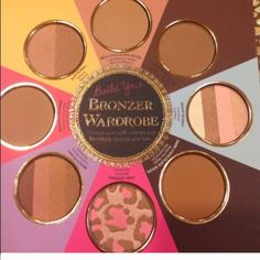 Too faced bronzers NWOT Too faced bronzers. Black book of bronzer Too Faced Makeup Bronzer