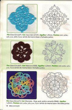 Kira scheme crochet: Scheme crochet no. 1891