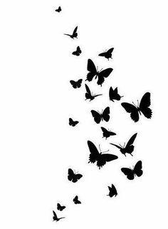 best ideas for wallpaper anime preto e branco Butterfly Drawing, Butterfly Wall Art, Butterfly Painting, Blue Butterfly, Butterfly Stencil, Wallpaper Art Deco, Wallpaper Backgrounds, Butterfly Wallpaper Iphone, Flower Wallpaper