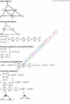 Formule matematica gimnaziu 5 8 Formule si teorie Geometrie plana si in spatiu si Trigonometrie pagina 6 Teaching Math, Maths, Desktop, Diagram, Chart, School, Geometry, Trigonometry, Studying