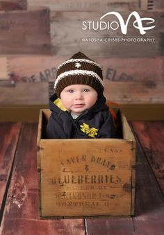 Newborn Boy Football Hat...Baby Football Hat....Hand Knit Football Hat... Brown and White Football Hat.. Newborn Photo Prop Hat via Etsy - 3 month photo idea