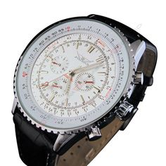 Large dial automatic mechanical watches men watches men's watches wholesale (NBW0FA6241-WH1) - http://offerier.com/?p=1673