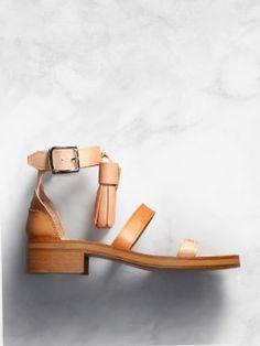 tassle sandal / acne