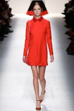 Minidress con colletto fiorito Valentino