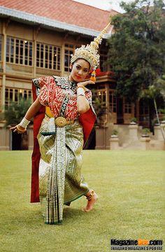 thai dance costume