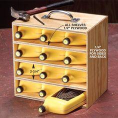 Lots of ingenious workshop organization ideas! No words...