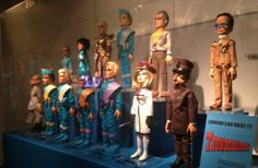 Thunderbirds exhibit Science Fiction, Thunder Bird, Timeless Series, Thunderbirds Are Go, Space Toys, Best Series, Classic Tv, Sci Fi Art, Old Toys