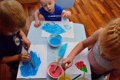 rosnace-farby-przepis, puffy paints, prace plastyczne, kids art, zabawy dla dzieci, kreatywnezabawydladzieci.pl