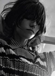 Off the Wall - Interview Magazine November 2014 Grace Hartzel Photography Gregory Harris Stylist Elin Svahn