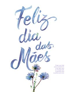 Dia das mães - Mothers day on Behance Message For Mother, Calligraphy Types, Wreath Drawing, Creative Lettering, I Love Mom, Lettering Tutorial, Mom Day, Star Wars Poster, Mother's Day Diy