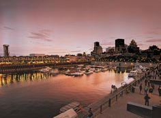 Vieux-Port de Montréal / Old Port of Montreal in Montreal, QC