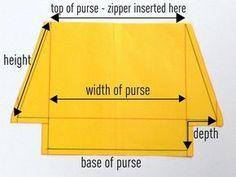 Drafting a bag pattern