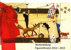 Neue zweijährige berufsbegleitende Weiterbildung für Figurentheater in der Schweiz. Theater, Content, Further Education, Switzerland, Figurine, Theatre, Teatro, Theatres