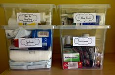 home pharmacy first aid apteczka leki drugs organizing