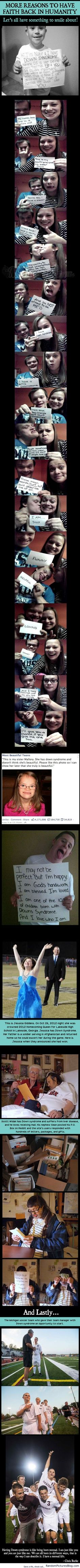 Kids with Down Syndrome  Restoring Faith in Humanity - from www.RandomPicturesBlog.com