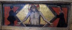 Taddeo Gaddi - Madonna col bambino e santi, predella - 1350 - Chiesa San Martino a Mensola, Firenze