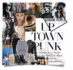 """""""Up Town Punk"""" by andy0008 ❤ liked on Polyvore featuring moda, Cushnie Et Ochs, Shin Choi, Rifle Paper Co ve Bobbi Brown Cosmetics"""