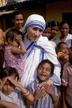 Mother Theresa - what an incredible inspiration.