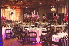 Modern and Opulent Magenta Austin Wedding - MODwedding