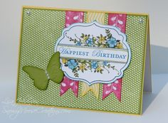 Butterfly Birthday Wishes by Alcojo94 - Cards and Paper Crafts at Splitcoaststampers